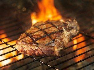 Cuisson de la viande au restaurant !