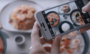 Ces assiettes vous dissuadent de prendre des plats en photos