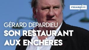 Gérard Depardieu met aux enchères les fourneaux de son restaurant Parisien