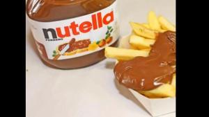 En Flandre, une friterie propose des frites… au Nutella