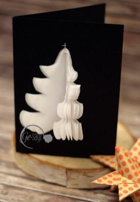weihnachtskarte Tannenbaum logo