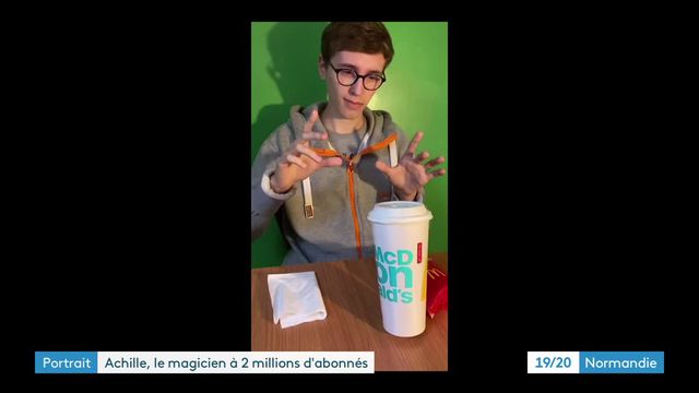 On TikTok, the rapid rise of Achilles Magic, a young magician with 2 million subscribers