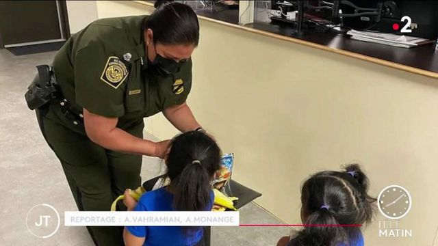 United States: these migrant children who try to cross the Mexican border