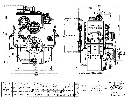 Marine Gearbox--Singapore gearbox and speed reducer