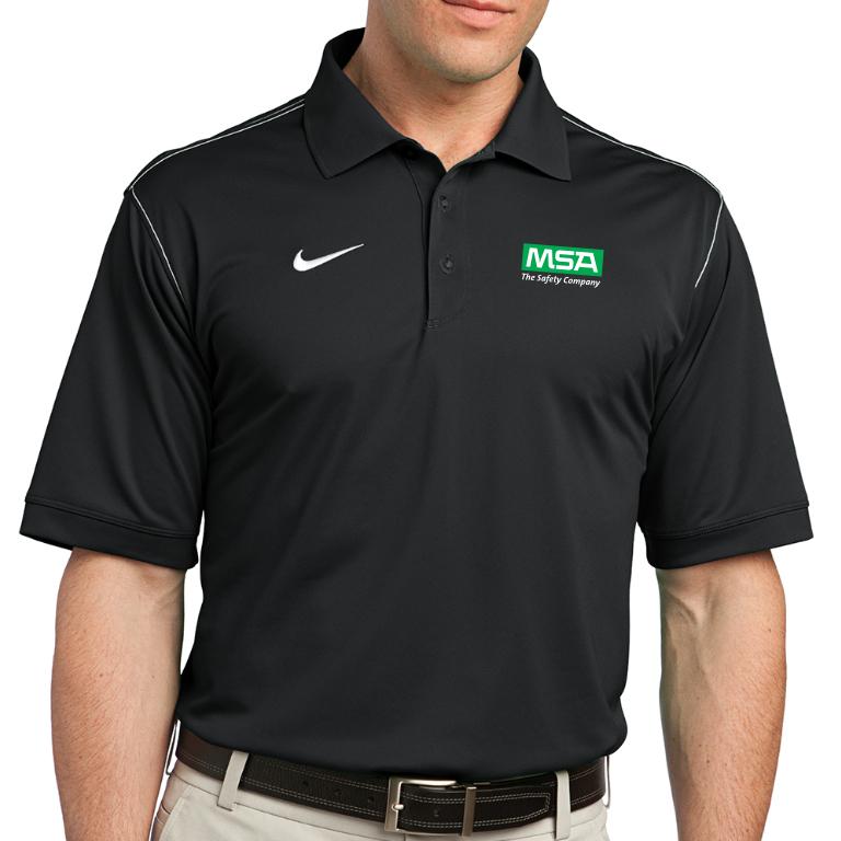 Nike Golf Dri Fit Sport Swoosh Polo Msa Gear