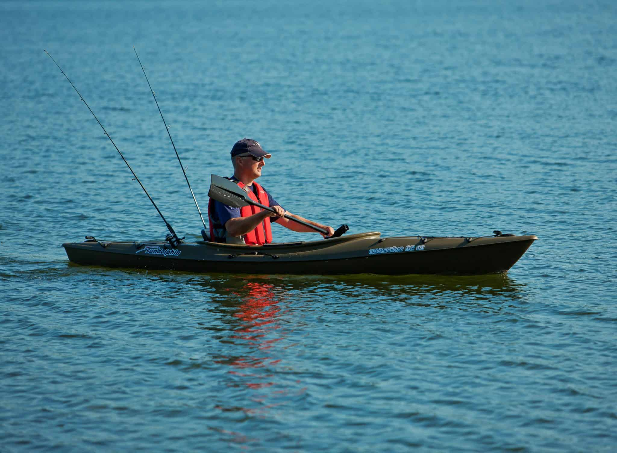 Sun Dolphin Aruba 12 SS Sit-In Fishing Kayak Review