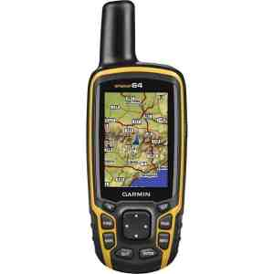 "Garmin GPSMAP 64 Handheld GPS with GLONASS Receiver Rugged, Waterproof and High Sensitivity GPS with GLONASS Receiver The Garmin GPSMAP 64 is a tough little piece of kit with easily readable graphics and the ability to upload topographic maps all around the world. With an aptly sized 2.6"" colour display, the sunlight readable screen gives you clear images in the brightest or wettest of days. The dual battery is a must for anyone who wants to spend more than a few days out in the sticks and gives one less excuse for die hard map and compass folk. Weighing just 7.6 oz or 215 grams, you get a powerful and lightweight handheld GPS in a toughened waterproof casing. The GPSMAP 64 comes with a pre-installed worldwide base map with easy to read terrain and shaded relief so you can navigate through the lanscape before you get there. You also get over 250,000 world wide geocaches, pre-loaded onto the device sourced directly from Geocaching.com with access to all the user photographs. This is great news for geocaching users as the website has one of the biggest and best databases of geocaches on the inter web. Wherever you go in the world, you will have instant access to local topographic maps as well as points of interest listed on the geocache. If the pre-loaded maps weren't enough for you then adding new map data is easy with multiple, topographic, marine and road maps with precise detail. The 4GB internal memory can be expanded using a microSD card in the slot under the battery so you can download 24k and 100K TOPO maps. The microSD card reader supports BlueChart® G2 and City Navigator NT® pre-loaded charts and map data memory cards. The Garmin GPSMAP 64 works hand in hand with BirdsEye Satellite Imagery (subscription needed) which allows you to install satellite imagery onto your device and integrate it with your existing maps. In addition, the 64 is compatible with Custom Maps, a map format that allows you to transform paper and electronic maps easily into downloadable maps for your device, for free. reviever in deep woods and mountain valleys supports BirdsEye Satellite Imagery (subscription required) and Garmin Custom Maps. Rugged and waterproof, GPSMAP 64 uses a quad helix antenna for superior reception. Features 2.6"" color display with sunlight readable screen 4 GB internal memory and a microSD compatible reader for expanded memory High sensitivity GPS and GLONASS receiver with a quad helix antenna Dual battery system - Use 2AA batteries, or the optional rechargeable NiMH battery pack that can be charged while inside the device 16 hour+ battery life in full use 250,000 preloaded caches from Geocaching.com Size (LWH): 1.4 inches, 4.2 inches, 6.3 inches Weight: 9.28 ounces Explore the Terrain GPSMAP 64 comes with a built-in worldwide basemap with shaded relief so you can navigate anywhere with ease. With photo navigation, you can download geotagged pictures from the Internet and navigate to them. Keep Your Fix With its quad helix antenna and high-sensitivity, GPS and GLONASS, receiver, GPSMAP 64 locates your position quickly and precisely and maintains its location even in heavy cover and deep canyons. The advantage is clear — whether you're in deep woods or just near tall buildings and trees, you can count on GPSMAP 64 to help you find your way when you need it the most. Add Maps Adding more maps to GPSMAP 64 is easy with our array of detailed topographic, marine and road maps. With 4 GB of onboard memory and microSD card slot, you can conveniently download TOPO 24K and 100K maps and hit the trail, plug in BlueChart® g2 preloaded cards for a great day on the water or City Navigator NT® map data for turn-by-turn routing on roads (see maps tab for compatibility). GPSMAP 64 also supports BirdsEye Satellite Imagery (subscription required) that lets you load satellite images onto your device and integrate them with your maps. In addition, the 64 is compatible with Custom Maps, a map format that allows you to transform paper and electronic maps easily into downloadable maps for your device, for free. Find Fun GPSMAP 64 supports paperless geocaching with 250,000 preloaded caches with hints and descriptions from Geocaching.com, and has a 16-hour battery life. By going paperless, you're not only helping the environment, but also improving efficiency. GPSMAP 64 stores and displays key information, including location, terrain, difficulty, hints and descriptions, which means there's no more manually entering coordinates and paper printouts! Slim and lightweight, 64 is the perfect companion for all your outdoor pursuits. Plan Your Next Trip Take charge of your next adventure with BaseCamp™, software that lets you view and organize maps, waypoints, routes and tracks. This free trip-planning software even allows you to create Garmin Adventures that you can share with friends, family or fellow explorers. BaseCamp displays topographic map data in 2-D or 3-D on your computer screen, including contour lines and elevation profiles. It also can transfer an unlimited amount of satellite images to your device when paired with a BirdsEye Satellite Imagery subscription."