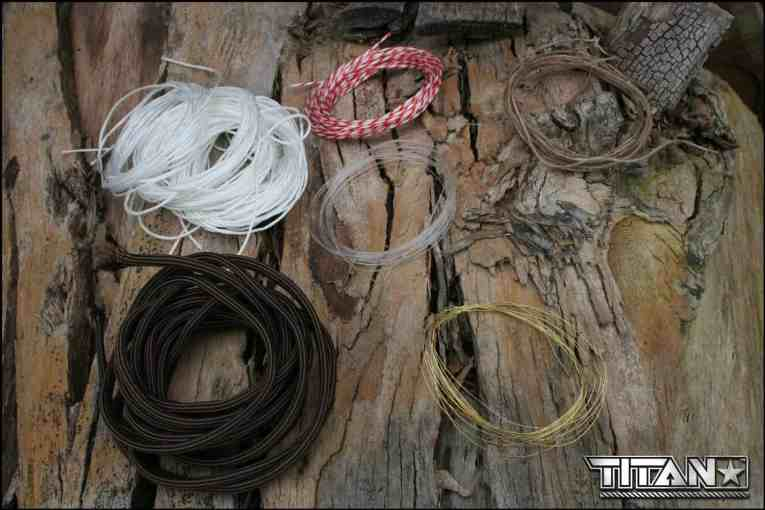 TITAN SurvivorCord Review - fishing line, copper wire, waxed jute, paracord 3 in 1