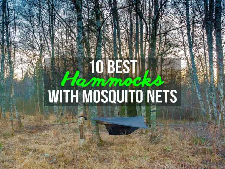 Best Hammocks with Mosquito Nets
