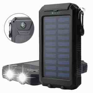 Digital Kingdom 20,000 mAh Solar Charger Power Bank