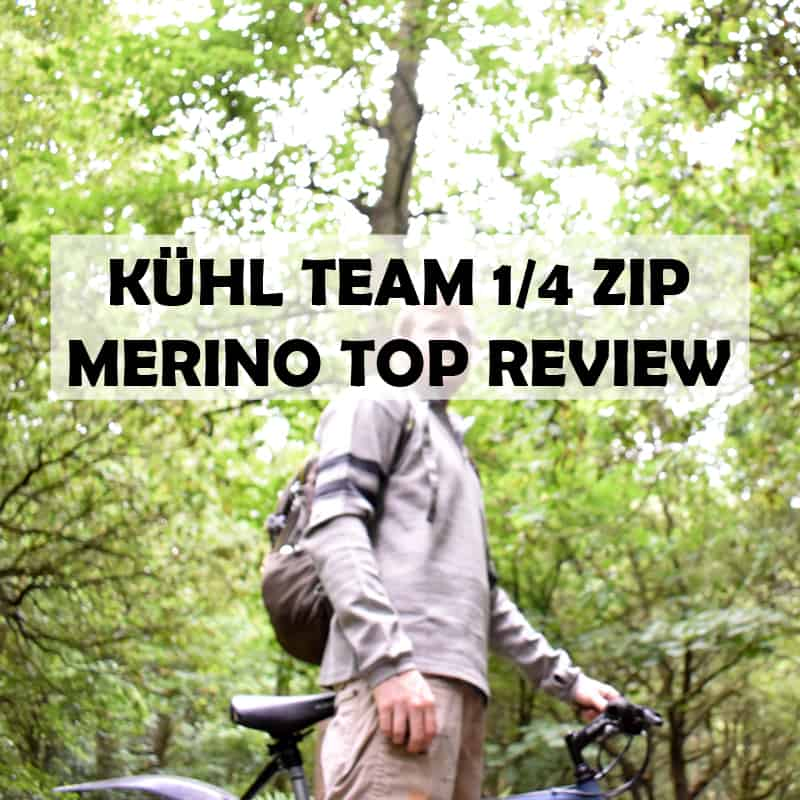 KÜHL TEAM™ 1/4 ZIP Merino Wool Top Review