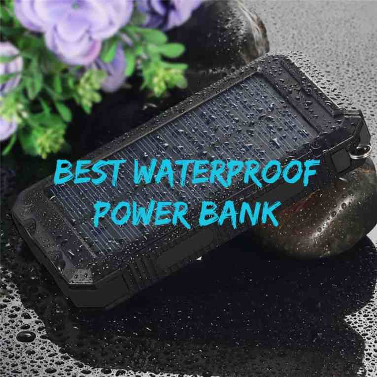 best waterproof power banks for travel