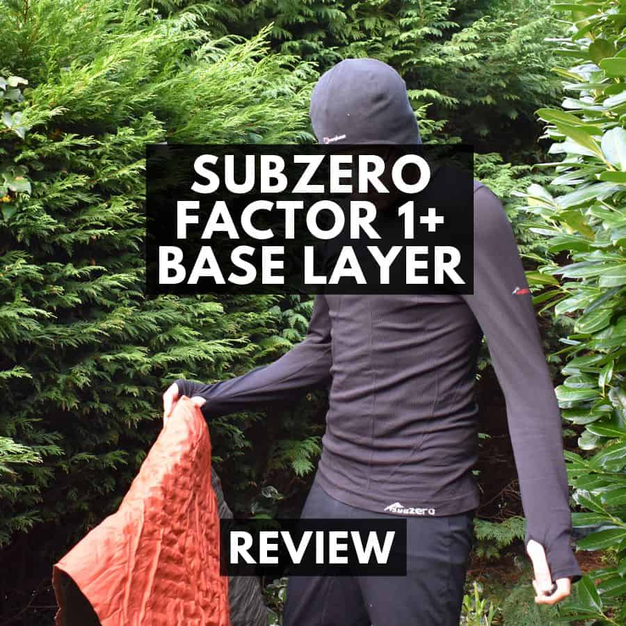 SubZero Factor 1 Plus Base Layer Review – Long Sleeve Seamless Thermal Insulation