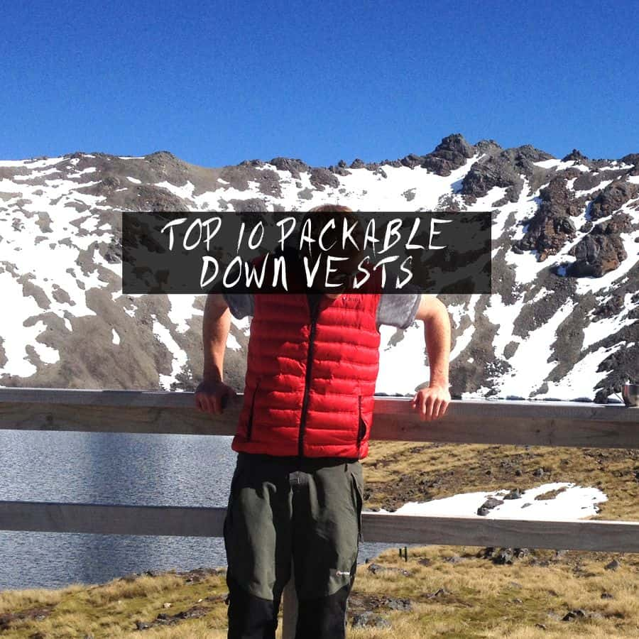 Top 10 Best Down Vests For Backpacking