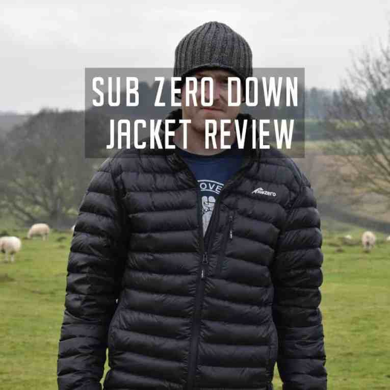 SUB ZERO Lightweight Down Jacket Review 2018
