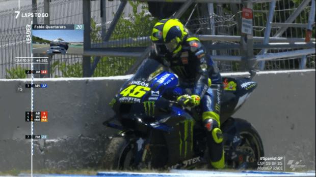 Welcome back MotoGP, Fabio quartararo the winner