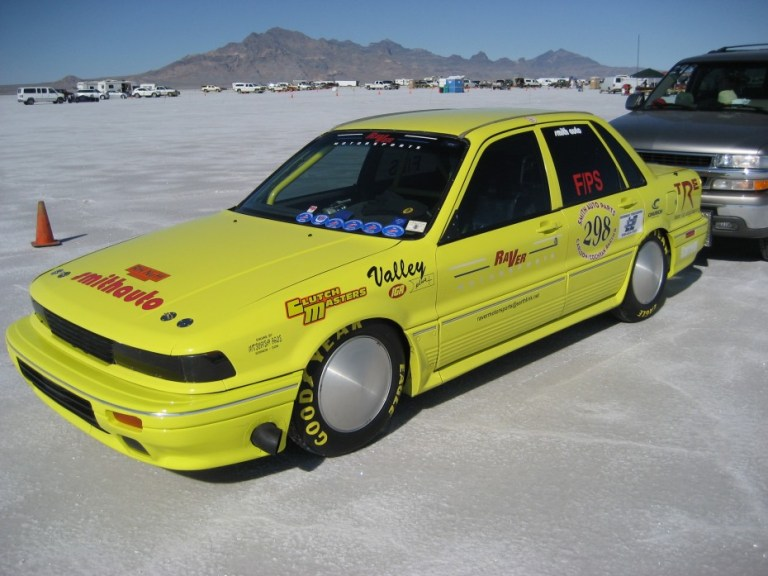 Fastest Galant VR4 in the world.