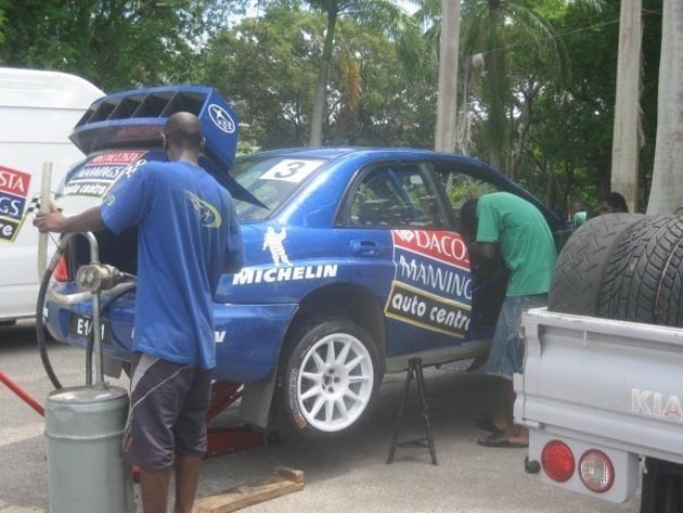subaru rally car service