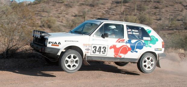 Dick Moser: Co-Driver, California Rally Series Director
