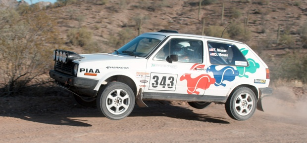 Dick Moser: Co-Driver, California Rally Series Director