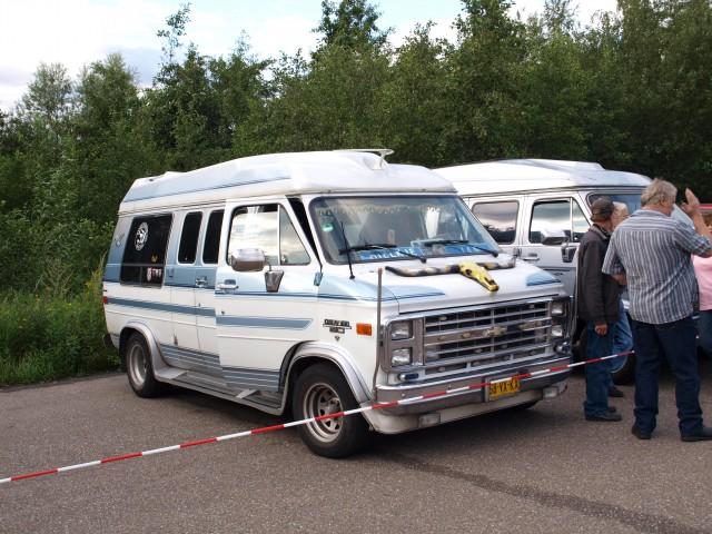 Chevrolet van, kerkrade, the Netherlands