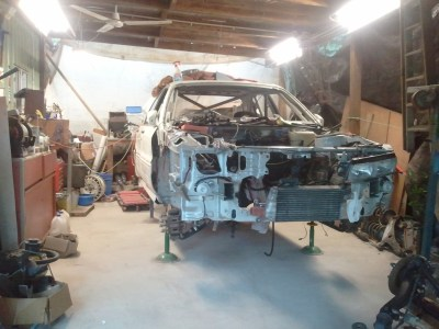 Day 11 of the big rallycar rebuild
