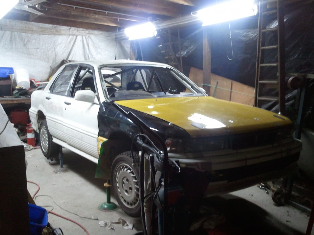 The Galant coming back together