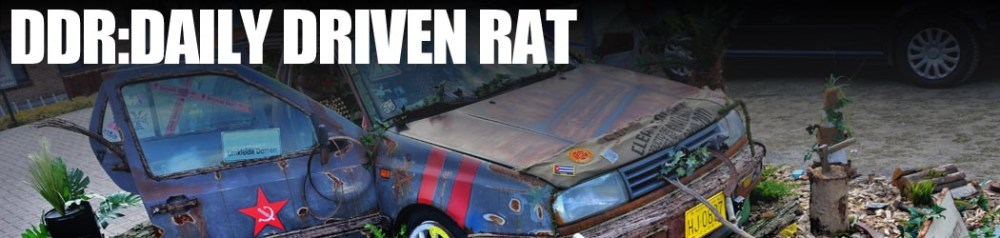 THE EFFING COVER: 1.07 DAILY DRIVEN RAT