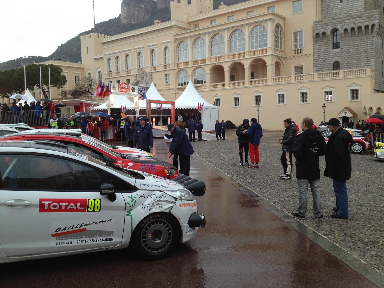 Prize ceremony, Rally Monte Carlo 2013, Kings Palace