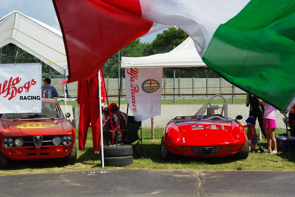 old Alfa Romeos still race