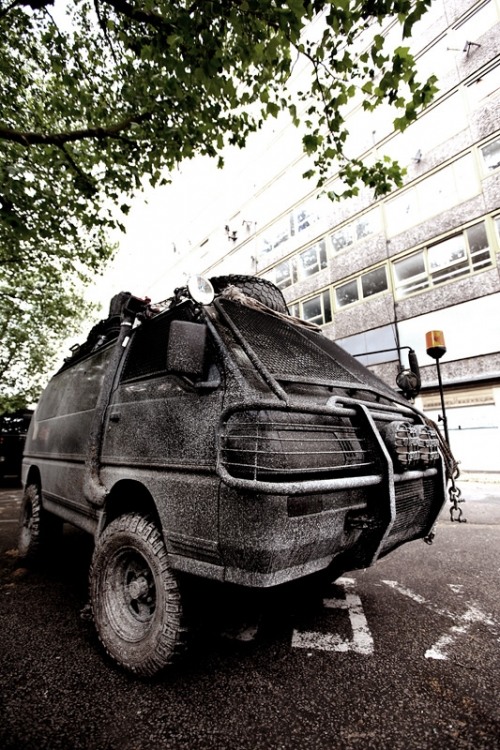 """INSPIRATION #1: """"Post-Apocalyptic Delica   Image: Bruce Holder, owner"""