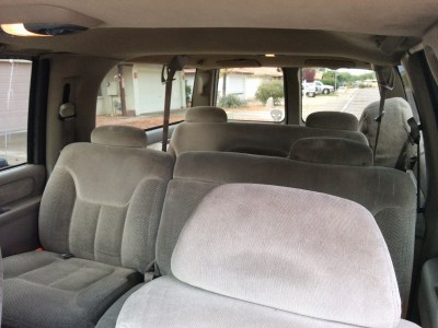 1998 Chevy Suburban interior