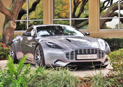 Aston Martin Thunderbolt shown at Amelia Island. Photo Credit: Harvey Sherman.