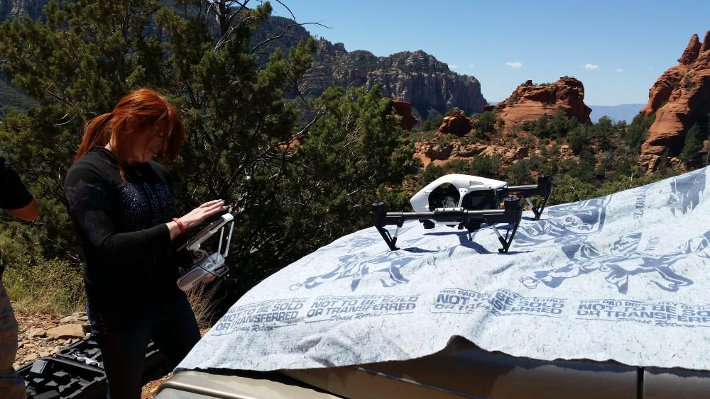 inspire drone sedona