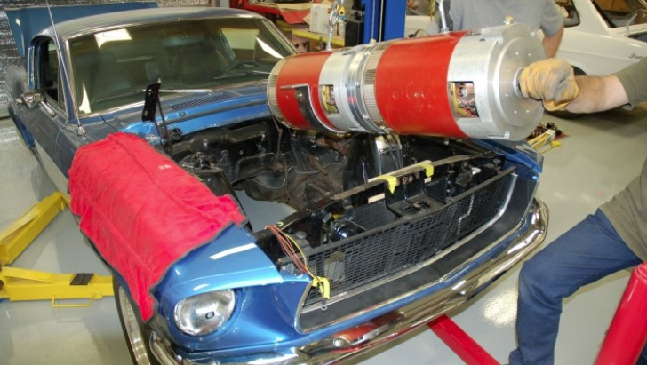 Yes. People build electric muscle cars, too.