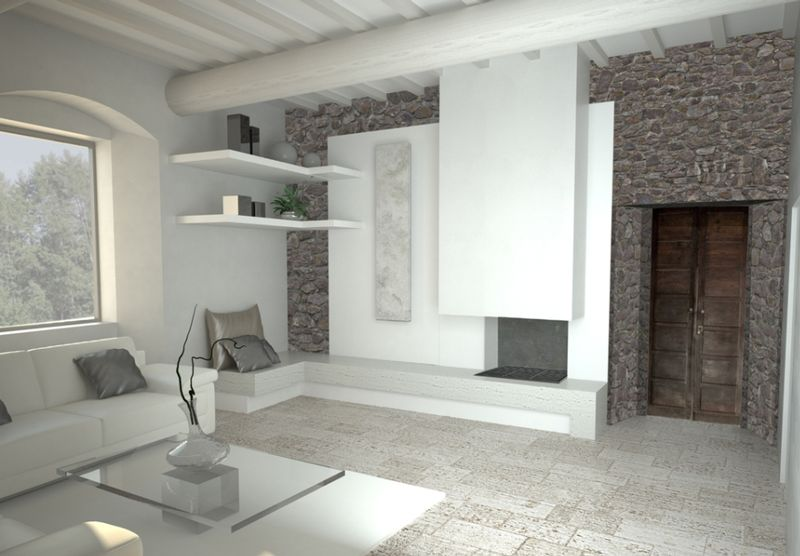 Render interni  proposte di arredamento di interni varie