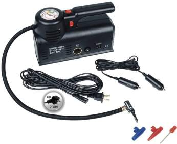 Kensun D1001 ACDC Heavy Duty Multi-Function Air Compressor Tire Inflator