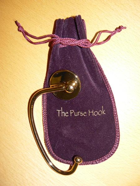 Gold Purse Hook