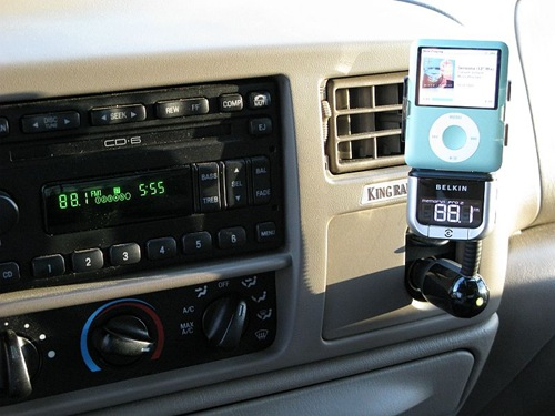 The Belkin TuneBase FM with ClearScan for iPod Review