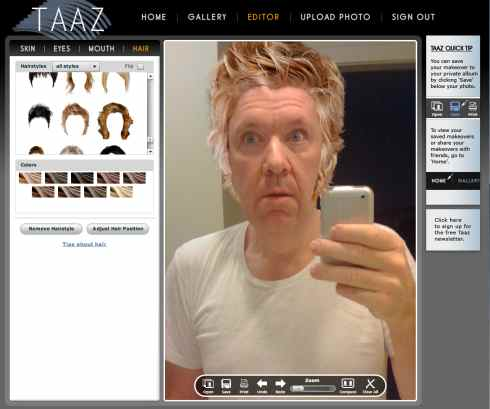 Tazz Virtual Makeovers Make (almost) Anyone Look Good  Tazz Virtual Makeovers Make (almost) Anyone Look Good  Tazz Virtual Makeovers Make (almost) Anyone Look Good  Tazz Virtual Makeovers Make (almost) Anyone Look Good  Tazz Virtual Makeovers Make (almost) Anyone Look Good