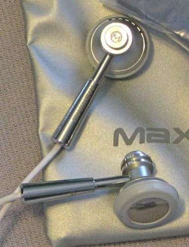 The Maximo Products iMetal iPhone Headsets Review