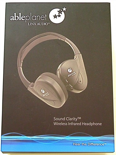 The AblePlanet LINX AUDIO Wireless Infrared Headphone Review  The AblePlanet LINX AUDIO Wireless Infrared Headphone Review