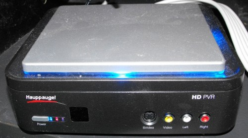 Hauppauge HD PVR Model 1212 Review