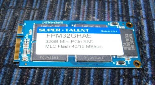 SuperTalent Mini PCIe SSD Drives Review