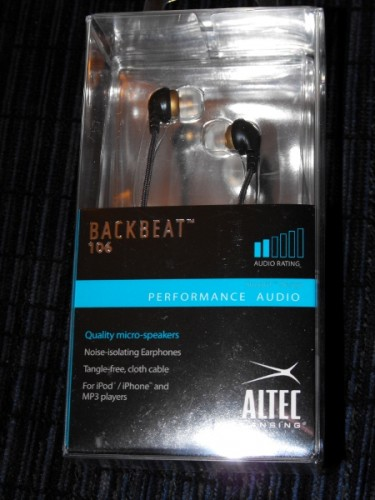 Review: Altec Lansing Backbeat 106 Headphones