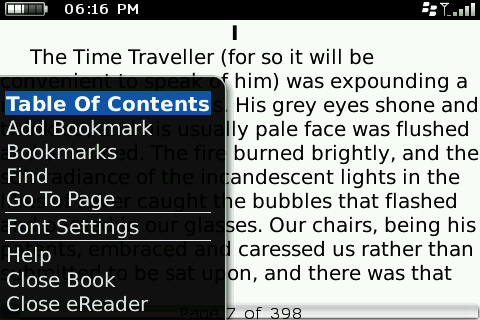 Why eReader for BlackBerry is a fail