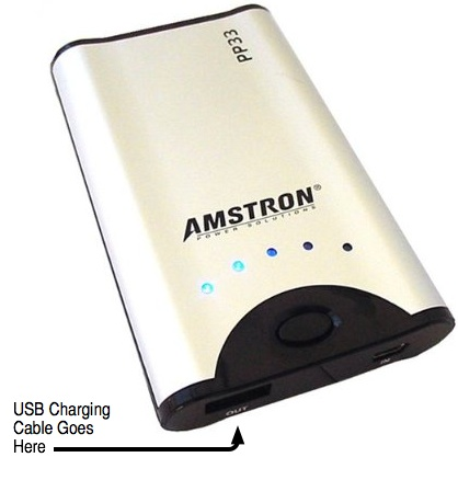 Amstron External Universal USB Battery powers nearly all your portable gadgets for about $40  Amstron External Universal USB Battery powers nearly all your portable gadgets for about $40