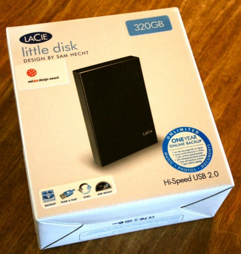 LaCie Little Disk 320GB Hard Drive Review