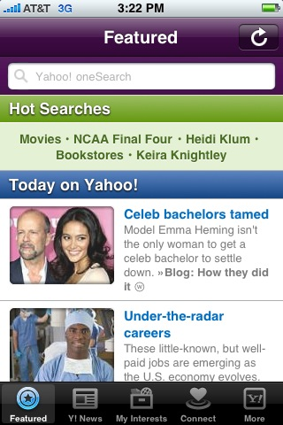Featured stories on Yahoo!