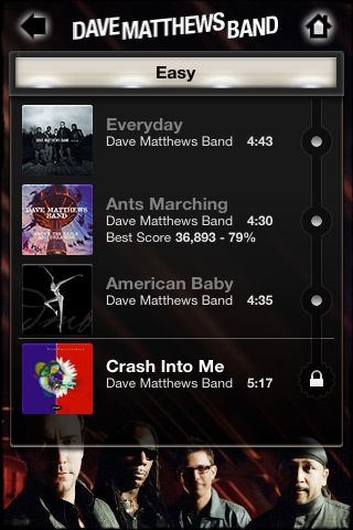 Review:  Tap Tap Revenge - Dave Matthews Band  Review:  Tap Tap Revenge - Dave Matthews Band  Review:  Tap Tap Revenge - Dave Matthews Band  Review:  Tap Tap Revenge - Dave Matthews Band  Review:  Tap Tap Revenge - Dave Matthews Band  Review:  Tap Tap Revenge - Dave Matthews Band
